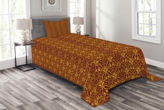 Venetian Leaves Bedspread Set