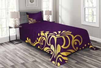 Curvy Ornament Bedspread Set