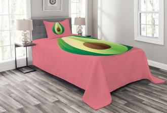 Fresh Healthy Avocado Bedspread Set