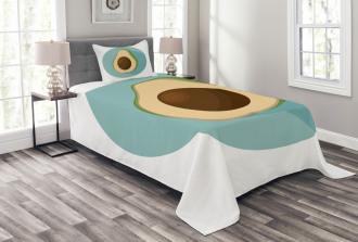 Raw Delicious Avocado Bedspread Set