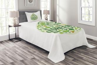 Inspirational Image Bedspread Set