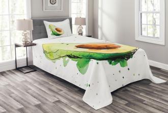 Simplistic Doodle Art Bedspread Set