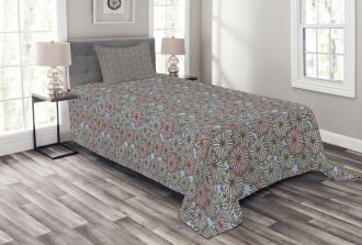 Botanical Garden Design Bedspread Set