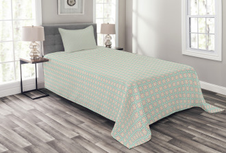 Chevron Zigzags Motif Bedspread Set