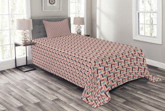 Colorful Mosaics Bedspread Set