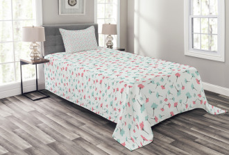 Nature Growth Bedspread Set