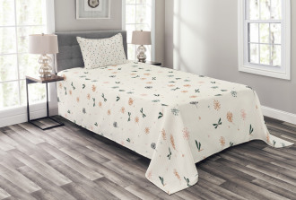 Bugs and Dandelions Bedspread Set