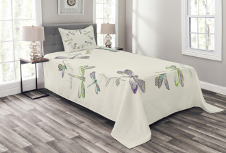 Forest Animals Circle Bedspread Set