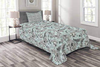 Bugs and Daises Bedspread Set