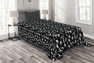 Dragonfly Tulip Bedspread Set