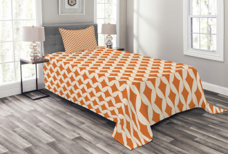 Abstract Ornament Bedspread Set