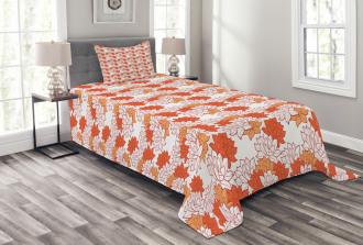 Lily Zen Garden Bedspread Set