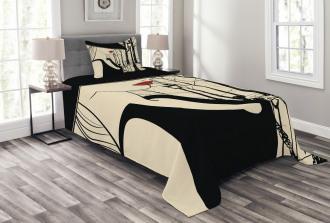 European Woman Montmartre Bedspread Set