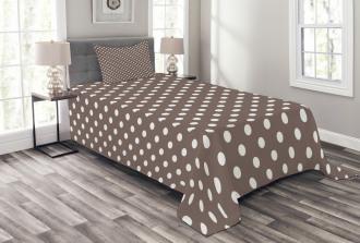 European Motifs Dots Bedspread Set
