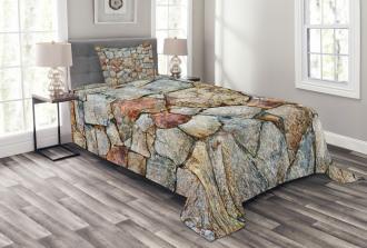 Rustic Natural Wall Bedspread Set