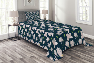 Japanese Sakura Flower Bedspread Set