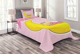 Moon Baby Girl Ritua Bedspread Set