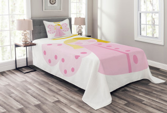 Girl with Fairy Wing Bedspread Set