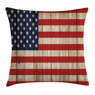 Independence Day in July Pillow Cover