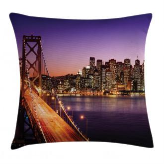 American Bridge Pillow Cover