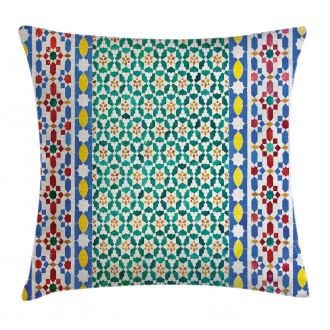 Colorful Mosaic Wall Pillow Cover