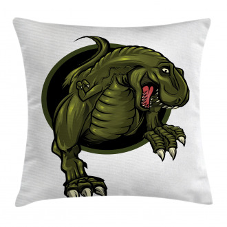 T-rex Ancient Animal Pillow Cover