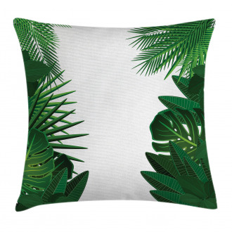 Tropical Exotic Palms Pillow Cover