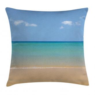 Calm Beach Hot Sun Pillow Cover