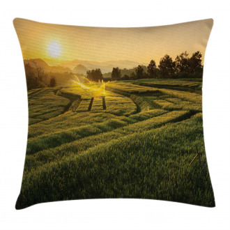 Barley Woods Sunset Pillow Cover