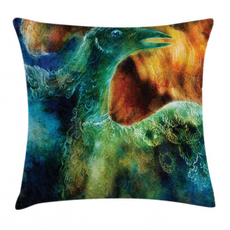 Mythical Phoenix Birth Pillow Cover