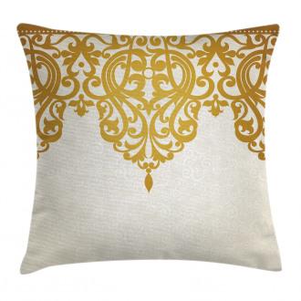 Medieval Baroque Art Pillow Cover