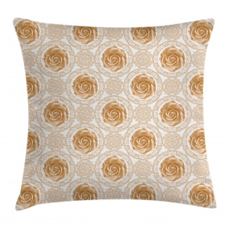 Royal Baroque Roses Pillow Cover