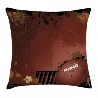 American Football Art Pillow Cover
