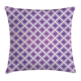 Retro Style Abstract Pillow Cover