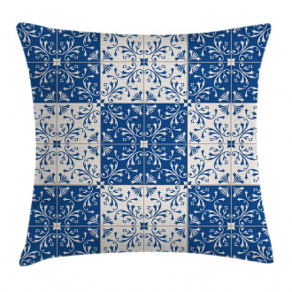 Portuguese Mosaic Pillow Cover