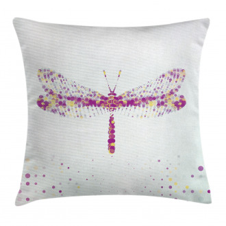 Flying Dragonfly Pillow Cover
