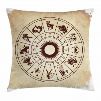 Zodiac Horoscope Sign Pillow Cover