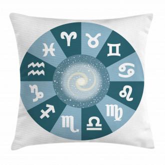 Zodiac Universe Signs Pillow Cover