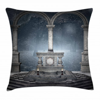 Roman Style Stone Altar Pillow Cover