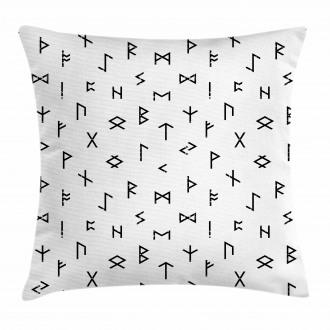 Anatolian Tribal Symbols Pillow Cover