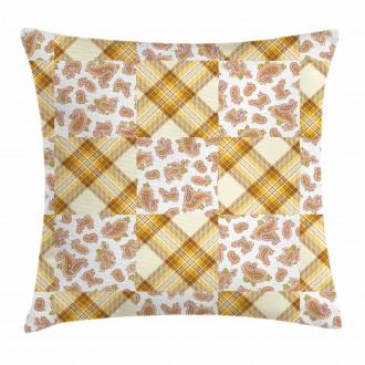 Retro Patchwork Pillow Cover