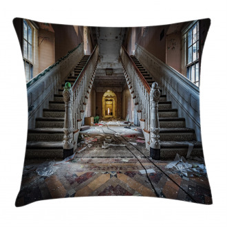 Abandoned Opera House Pillow Cover