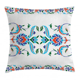 Ottoman Tulips Pillow Cover