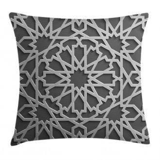 Moroccan Heraldic Empire Pillow Cover