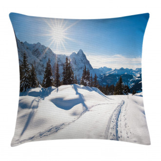 Mountain Pine Trees Pillow Cover