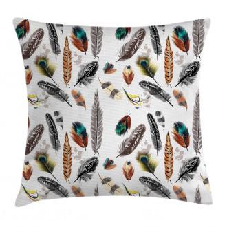Vivid Feathers Vivid Art Pillow Cover