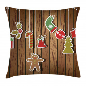 Wooden Pattern Pillow Cover
