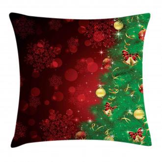 Jingle Bells Trees Pillow Cover