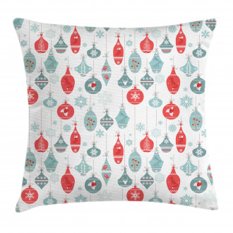 Joyful Xmas Pattern Pillow Cover