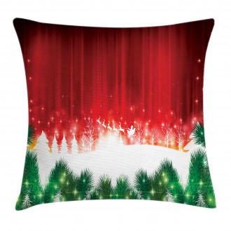 Xmas Theme Festive Pillow Cover